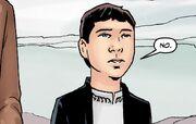 Outrun Titan Comics Young Master White Shirt