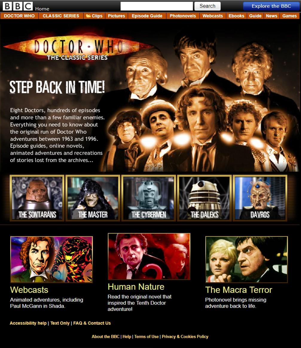 Doctor Who Website Tardis Fandom