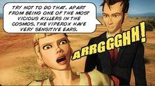 Dreamland Comic Companion screams at Viperox