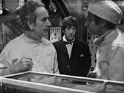 Second Doctor in Zaroff's lab UnderwaterMenace