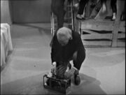 The Doctor sets his Dalek killing box The Chase-6