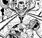 Doctor Strange and Doctor Who Lee Sullivan
