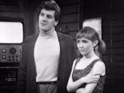 Steven and Vicki in Drahvin ship