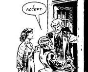 Sixth Doctor Saves Davros