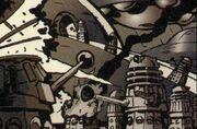 Dalek civil war flashback