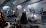 Dalek City Collapsing