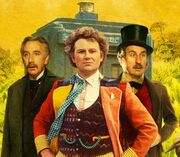 Jangl and Litefoot travel with the Doctor