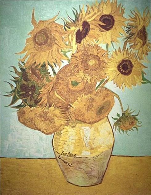 Vase With Twelve Sunflowers Tardis Fandom Powered By Wikia