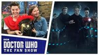 Rebecca Benson Talks The Eaters of Light - The Aftershow - Doctor Who The Fan Show
