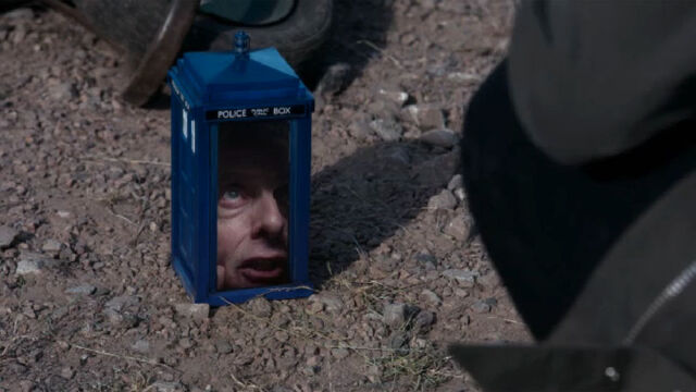 File:Twelfth Doctor in the shrunken TARDIS.jpeg