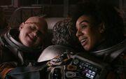 Doctor Bill Nardole hug (Oxygen)