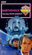 Earthshock VHS Australian cover