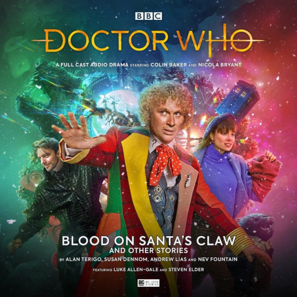 Image result for doctor who blood on santa's claw