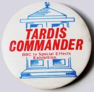 TARDIS Commander badge