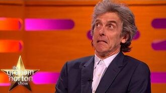 Peter Capaldi Discusses the Death of Dr Who The Graham Norton Show