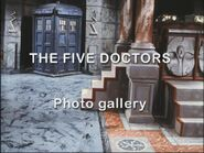 The Five Doctors Photo Gallery