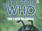 The Twin Dilemma (novelisation)