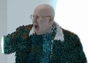 The projection Nardole discovers he's not real