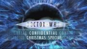 Doctor Who Confidential Xmas 2006 logo