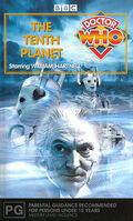 The Tenth Planet VHS Australian cover