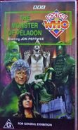 The Monster of Peladon VHS Australian cover
