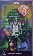 The Monster of Peladon VHS Australian cover