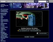 Website 2001 TARDIS-Cam b
