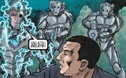 Cyber-Earth warriors