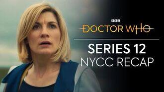 Series 12 Recap NYCC 2020 Doctor Who