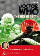 The Green Death DVD region 4 cover