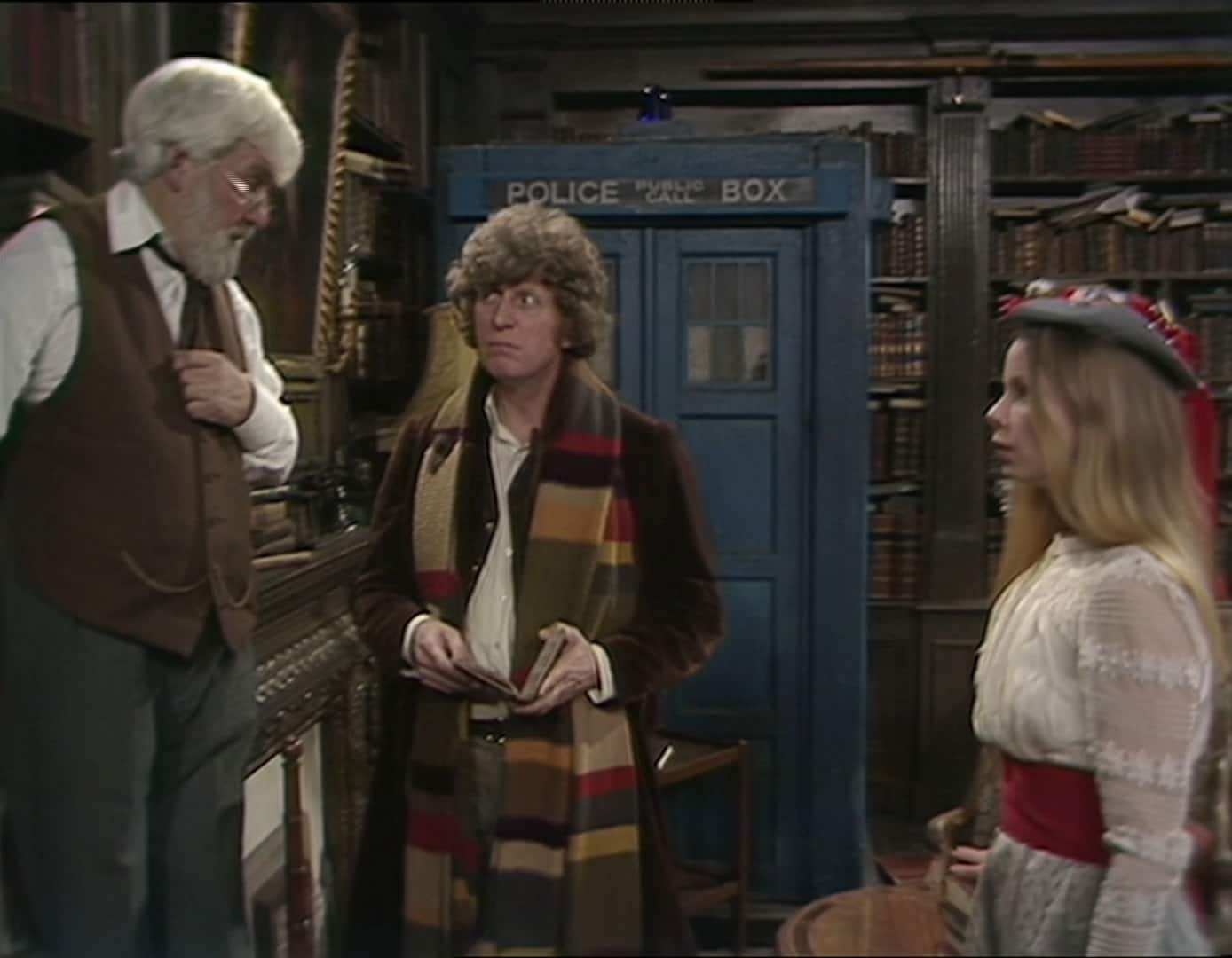 Doctor Who The Fourth Doctor Generation and Tardis Collection Set