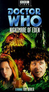 Nightmare of Eden VHS US cover