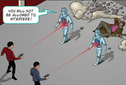 Spock and Mccoy vs Cybermen