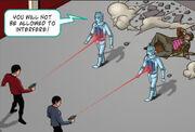 Spock and Mccoy vs Cybermen