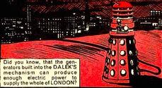 A Dalek could power London