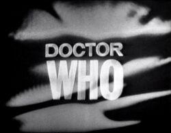 Doctor Who logo 1