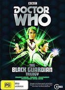 The Black Guardian Trilogy DVD box set Australian cover