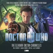 The Eleventh Doctor Chronicles alternate cover