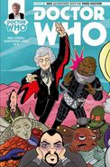 Third Doctor Titan Comics Issue Five Cover E