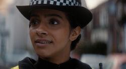 Yasmin police officer
