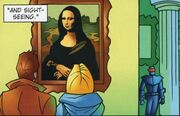 DWA CS 018 Mona Lisa Painting