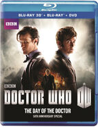 The Day of the Doctor 2013 Blu-ray US