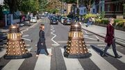 Doctor Who on Abbey Road Photoshoot