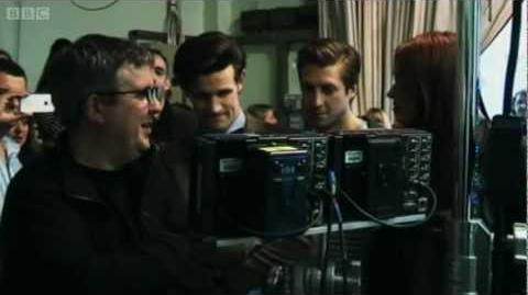 Doctor Who 'The Power of Three' - Behind the Scenes - Series 7 2012 Episode 4 - BBC One
