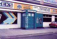 Blackpool exhibition door 1982