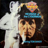 Revenge of the Cybermen laserdisc cover