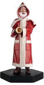 Robot Santa figurine