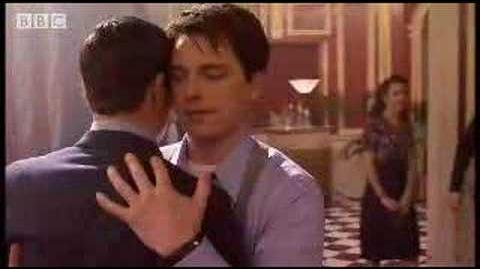Captain Jack kisses Captain Jack - Torchwood - BBC
