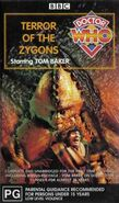 Terror of the Zygons VHS Australian rerelease cover