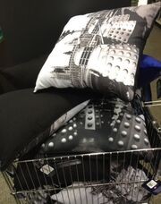 Dalek pillows